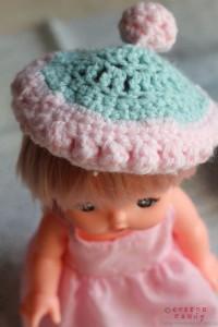 Mell's crochet hat