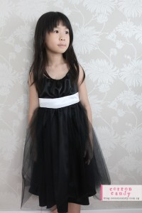 Josie Dress in black