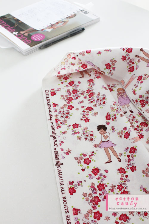 Sarah Jane Children at Play fabric