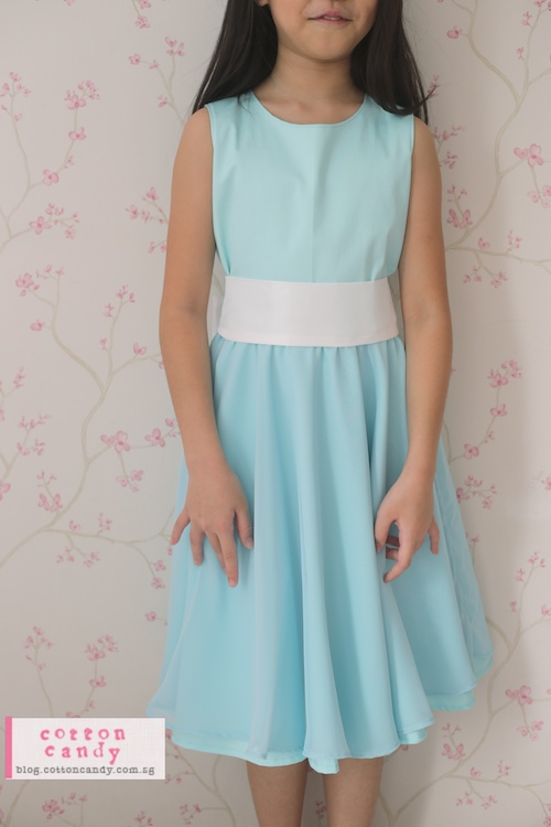 Cotton Candy » Piano Recital Dress in Tiffany Blue!